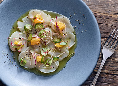 Scallop Crudo