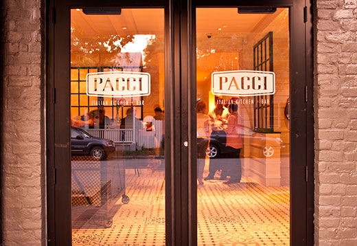 Savannah Restaurants Pacci Italian Kitchen